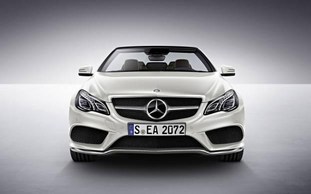 Mercedes E-Class front