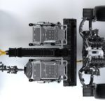 NSX Powertrain Top View