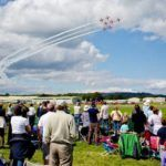 Red Arrows Crowd