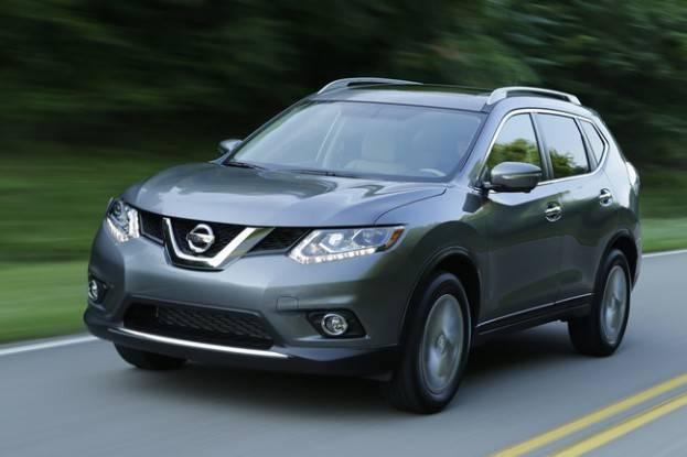 2015 Nissan Rogue drive