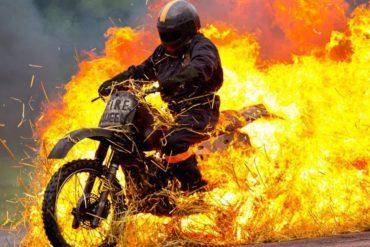 Stunt Zone fire