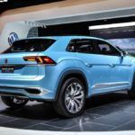 volkswagen cross coupe gte concept rear three quarter