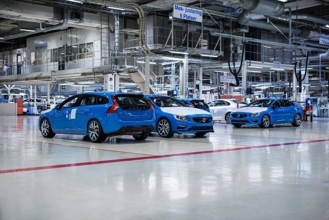 147795 Volvo Cars starts production of the new Volvo S60 and V60 Polestar e1423334088531