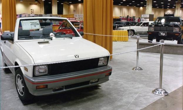 1990 Chicago Auto Show Yugo Exhibit