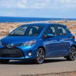 2015 Toyota Yaris blue