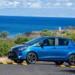 2015 Toyota Yaris blue side
