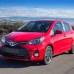2015 Toyota Yaris driving front