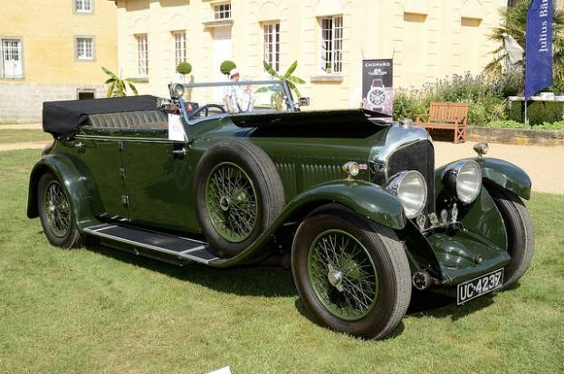 The Bentley Speed Six Touring Model (Photo by André Ritzinger)
