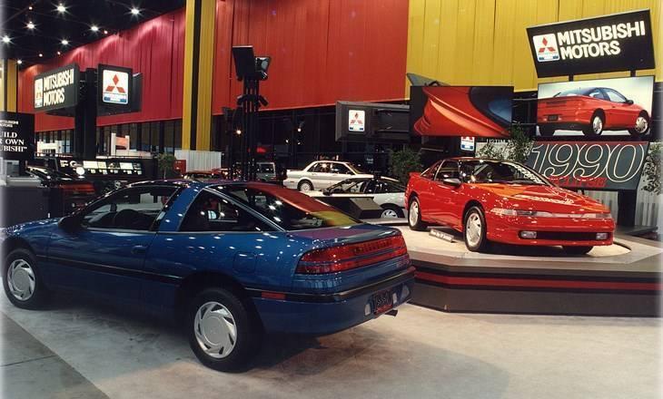 Chicago Auto Show 1990 Mitsubishi Eclipse
