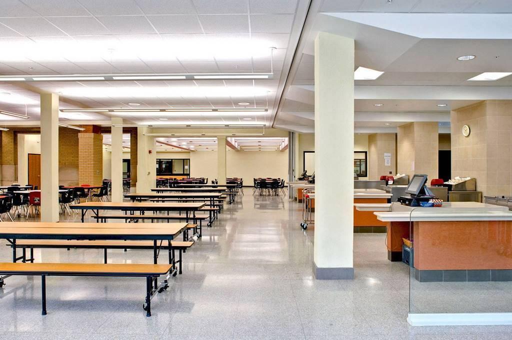 Image Gallery School Cafeteria