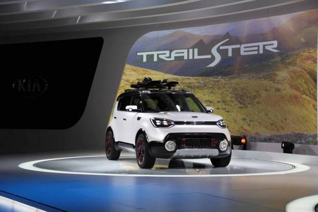 Kia debuted their Trailster at the 2015 Chicago Auto Show, based on the Soul.