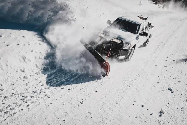 Ram Snow Plow Test 3
