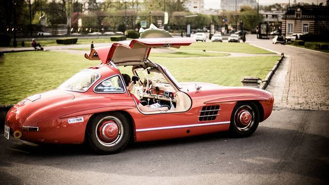 The 300SL in all its glory (Photo by Stephane Rossignol)