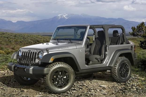 2015 Jeep Wrangler front