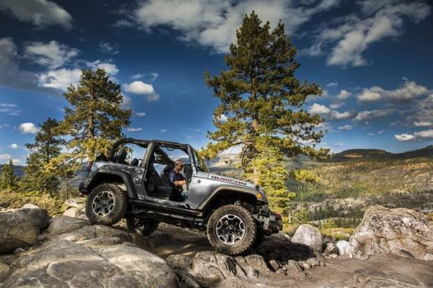 2015 Jeep Wrangler off road