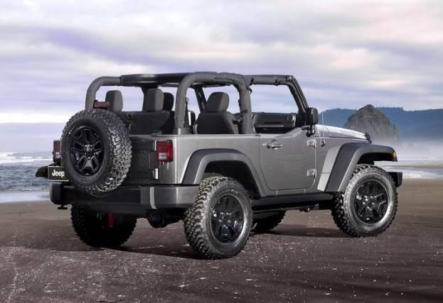 2015 Jeep Wrangler rear