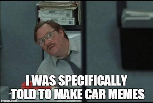 Milton Car Meme