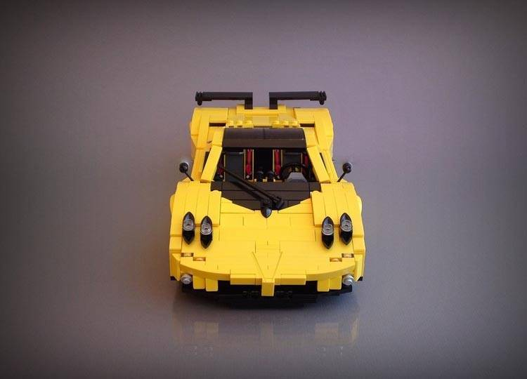 One Of The Coolest Cars On Track Has Found Its Way To Toy Box Detail Used Make This Little Zonda Is Amazing Unfortunately Lego Version