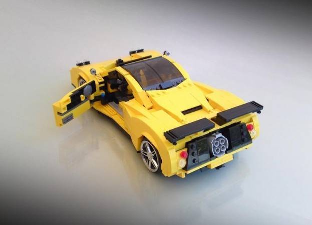 how to build a cool lego car from simple parts