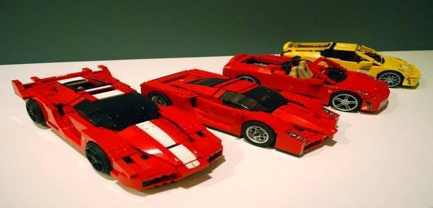 5 Coolest Lego Car Replicas