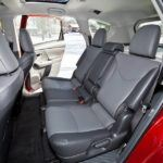 2012 toyota prius v five rear seating