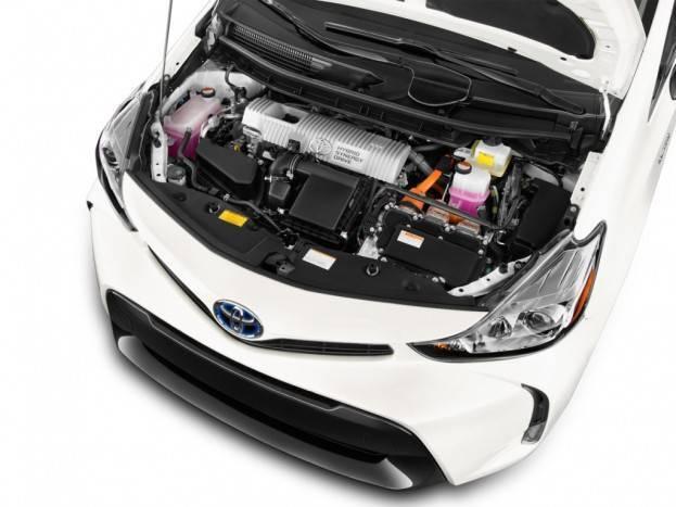 2015 Toyota Prius V Engine