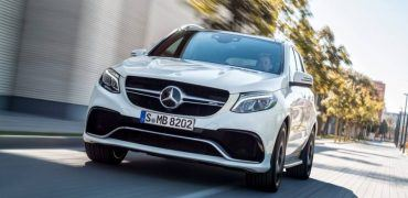 2016 Mercedes-Benz GLE 63 AMG S Front Fascia