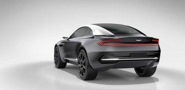 Aston Martin DBX Concept rear 370x180 - Aston Martin Introduces a Stunning All-Electric Concept Car