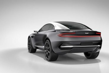 Aston Martin Introduces a Stunning All-Electric Concept Car 19