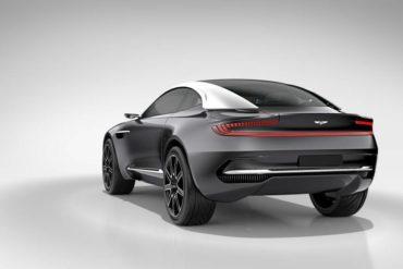 Aston Martin DBX Concept rear