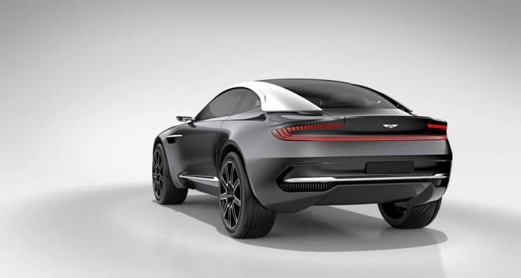Aston Martin DBX Concept rear 750x400 - Aston Martin Introduces a Stunning All-Electric Concept Car