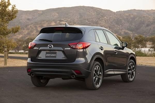 2016 Mazda CX5 rear