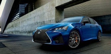 2016 Lexus GS-F Left Front