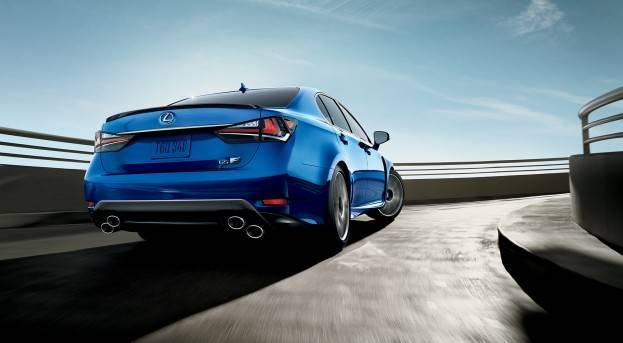 2016 Lexus GS-F Right Rear