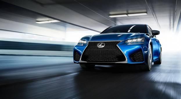 2016 Lexus GS-F Front Fascia