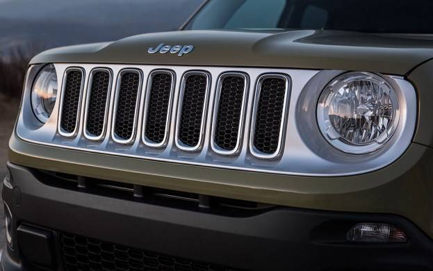 2015 Jeep Renegade Trail Hawk Grille
