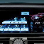 2014 Lexus LS fsport interior display overlay
