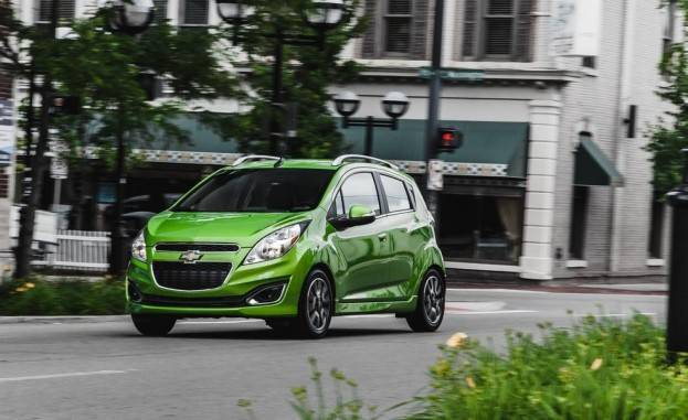 2015 Chevrolet Spark Left Front In Motion