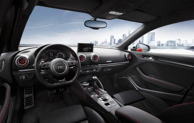 Audi rs 3 is finally coming to america for Leder auto interieur