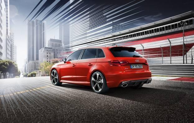 2015 Audi RS 3 Euro Spec Left Rear