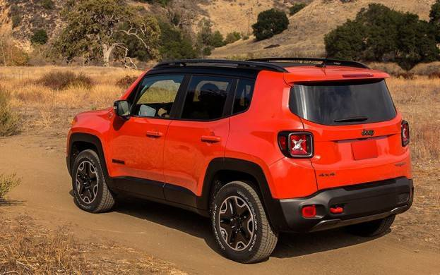 2015 Jeep Renegade Trail Hawk Left Rear 2