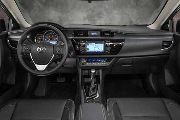 Corolla 2015 Interior