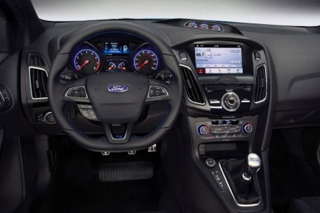 Ford Focus RS cabin