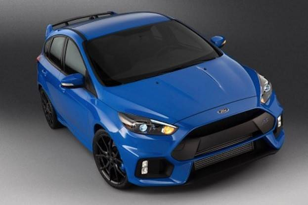 Ford Focus RS top