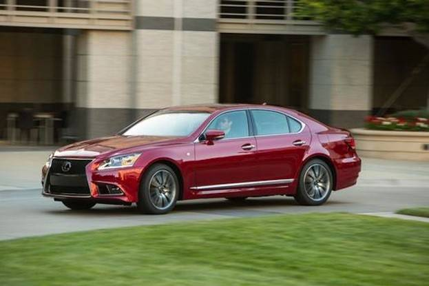 Lexus LS 460 drive