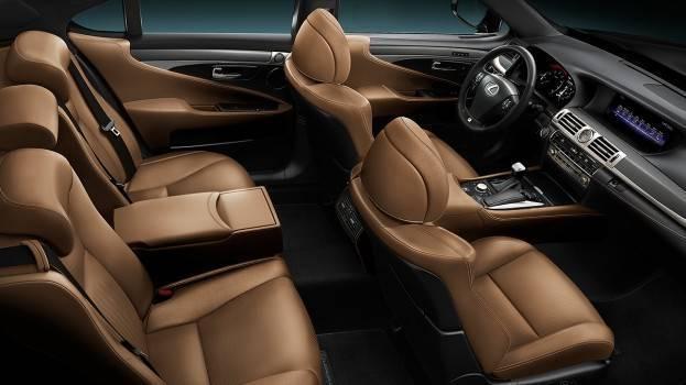 Lexus IS450 Interior 2