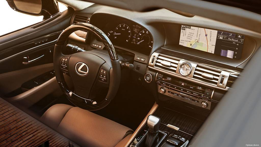 Lexus IS450 Interior