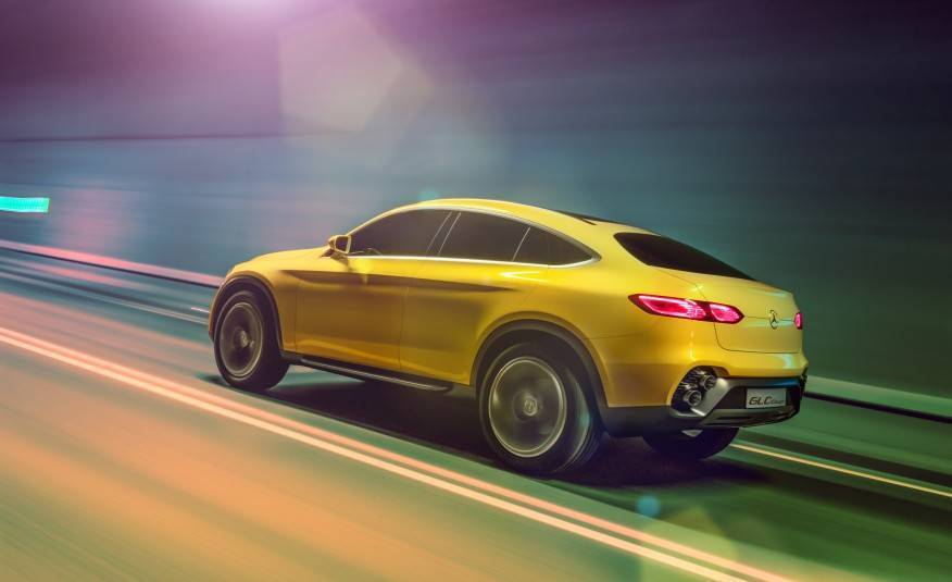 Mercedes Benz GLC coupe concept 104