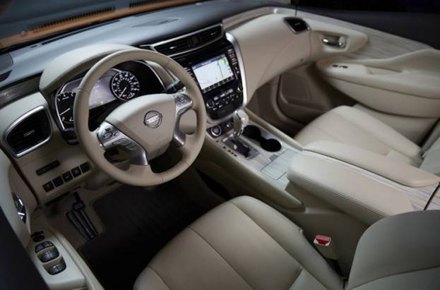 2015 nissan murano sl awd review. Black Bedroom Furniture Sets. Home Design Ideas