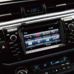 Toyota Corolla Interior Entune